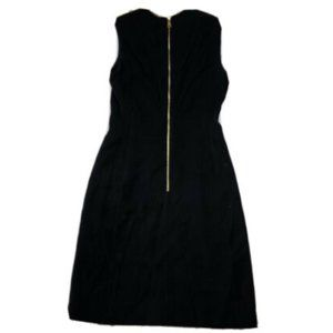 Louis Vuitton Uniforms Black Sheath Dress Short